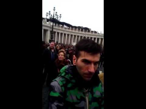 Biafra live in Vatican city