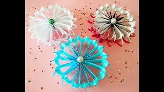 3D Schneeflocke / snowflake.  DIY