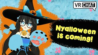 Nyalloween is coming!  - VRChat Funny-Random Moments