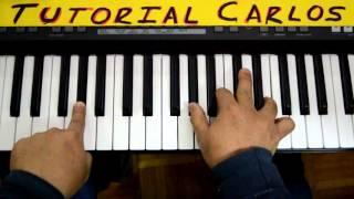 No hay lugar mas alto Miel San marcos 1 - Tutorial Piano Carlos