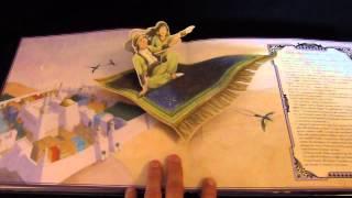 Aladin en pop up de Paul Hess aux éditions Quatre Fleuves