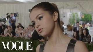 Selena Gomez on Her New Album and Wearing Combat Boots on the Red Carpet | Met Gala 2016
