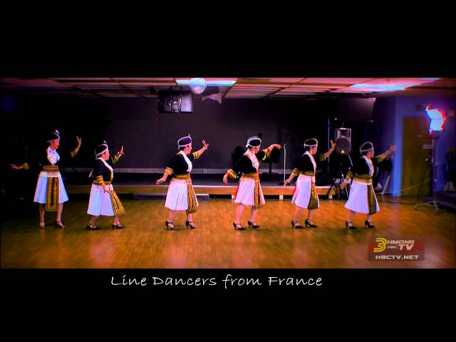 3HMONGTV [HD]: Hmong French showcase one of their dances while visiting MN.