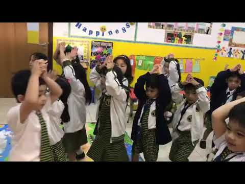 Dancing baby shark at Dubai Philippine School