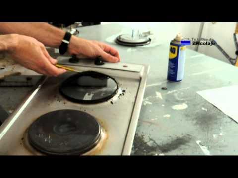 Resistencia de horno cambiar y colocar una nueva - Placa electrica cocina ...