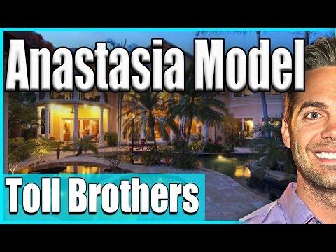 Anastasia Model by Toll Brothers   New Homes Coastal Oaks Nocatee