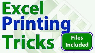 Little Known Printing Tricks for Excel