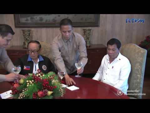 Meeting with Former President Fidel V. Ramos 11/14/2016