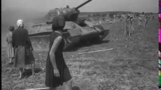 """Наши! Фрагмент из фильма """"Жаворонок"""" (Ленфильм, 1964 г., реж. Леонид Менакер)"""