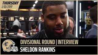 "Sheldon Rankins: ""We're looking forward to the challenge"" 