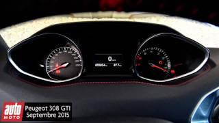 Peugeot 308 GTi (2015) : Reine de la route