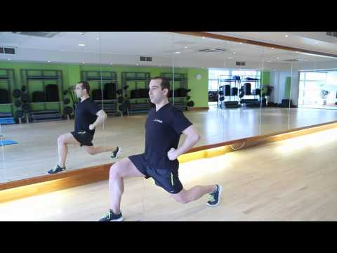 Power Lunges - Create Fitness. 20 Minute Gym # 2