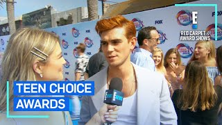 KJ Apa Reveals His Teen Crush…Then Gets Crushing News | E! Red Carpet & Award Shows