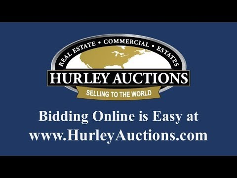 How To Bid Online With Hurley Auctions Youtube