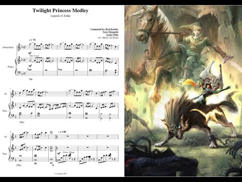 Twilight Princess Medley [SHEET MUSIC]