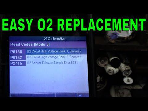 How to Replace an Oxygen (O2) Sensor Saturn Vue P0152 P2415