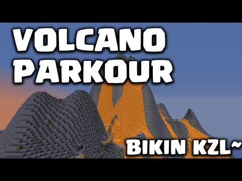 VOLCANO PARKOUR BUTUH KESABARAN DAN SKILL JAGO!!! - Minecraft Parkour Indonesia #3