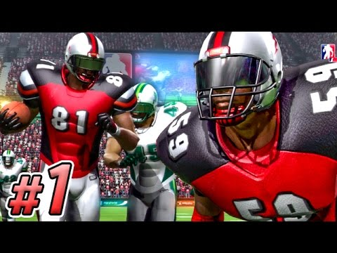 Backbreaker Season Mode Part 1 - TEAM INTRO & PRESEASON GAME