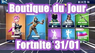 Fortnite The shop of the day on January 31st - Cobalt Pack