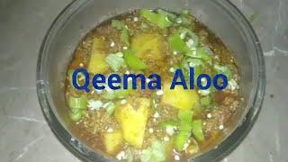 Qeema  Aloo  Recipe