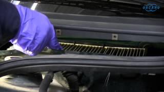 Volkswagen Golf IV - Changement du filtre d'habitacle