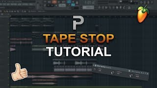 HOW TO MAKE: The Tapestop Effect [The Tip Guide #6] - FL Studio Tutorial