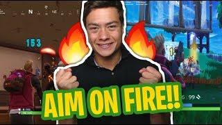 MIJN AIM IS ON FIREEE! - Fortnite: Noob tot Pro #3