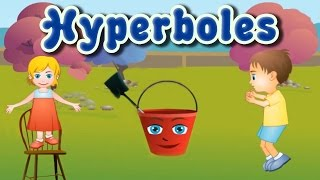 Figurative Language: Hyperboles, Fun and Educational Game for Children