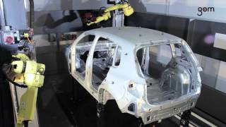 ATOS ScanBox Series 8 – Inspection of Body in White and Automotive Components