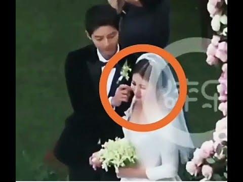 Song joong ki ❤ Song Hye Kyo ❤KİKYo MARRİED  day's happiness for a lifetime sweet Moment