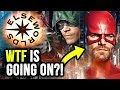 Oliver & Barry SWAP SUPERS!! FIRST Look at NEW Crossover Promo! - The Flash Arrow Elseworlds