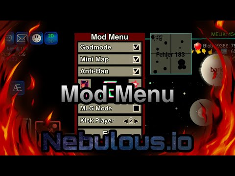 NEBULOUS MOD MENU 🔥 PLASMA HACK/GODMODE/MASS HACK/ANTI-BAN/XP HACK 🔥