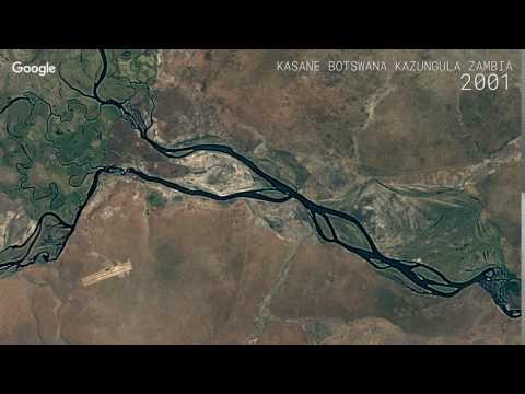 Google Timelapse: Kasane, Botswana and Kazungula, Zambia