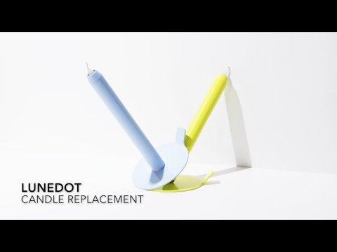 Lunedot kandelaar klassieke kandelaar met innovatief design