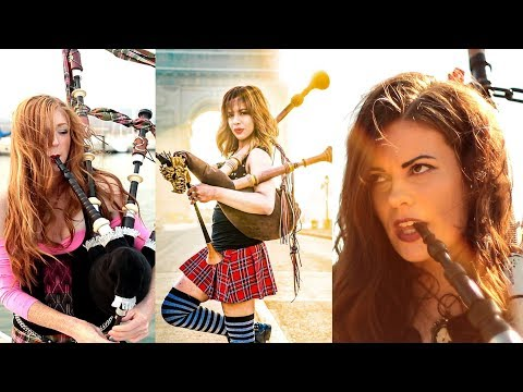 Shipping Up To Boston / Enter Sandman - Bagpipe Cover (Goddesses of Bagpipe)