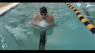 Техника плавания брассом Майкла Фелпса  Swimming breaststroke Phelps technique