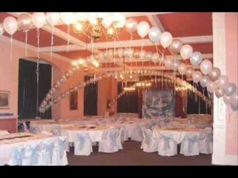 Wedding Ideasballoonsdecorationwmv Youtube