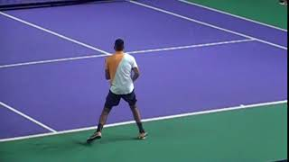 Nick Kyrgios Backhand In Super Slow Motion