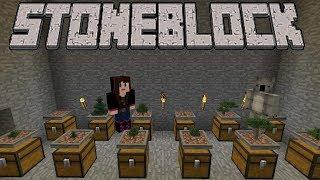 StoneBlock 2 Modpack Ep  2 Mining Dimension + Mob Farm