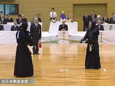 第6回全日本選抜剣道八段優勝大会決勝 The6th Kendo 8-Dan Taikai Final