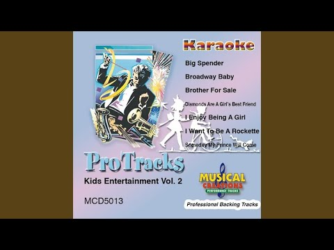 Brother for Sale (In the Style of Mary Kate & Ashley Olsen) (Karaoke Version Instrumental Only)