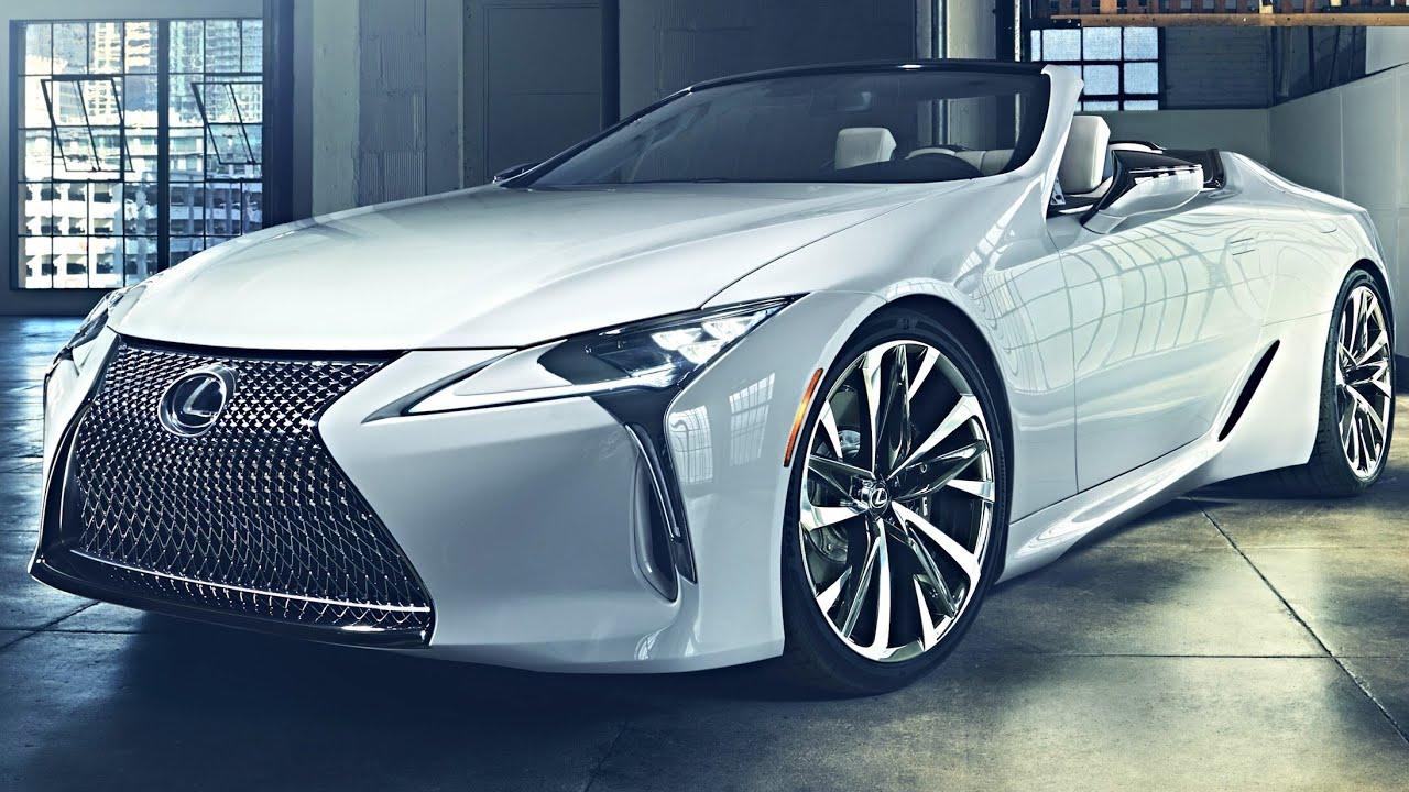 2020 lexus lc convertible concept  u2013 lexus lc 2020  first