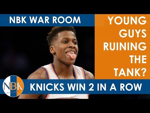 New York Knicks Youth Ruining the Tank?; March Madness; NBK War Room