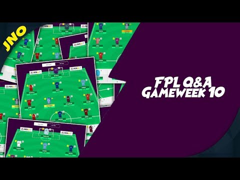 Fantasy Premier League 2018/19 IS LIVE!! FPL CHAT Gameweek 10 - ROTATION AND INJURIES