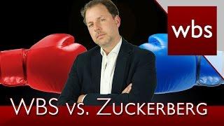 Christian Solmecke verklagt Mark Zuckerberg - Es gibt Neuigkeiten | Rechtsanwalt Christian Solmecke