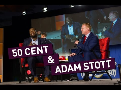 Adam Stott Interviews 50 Cent