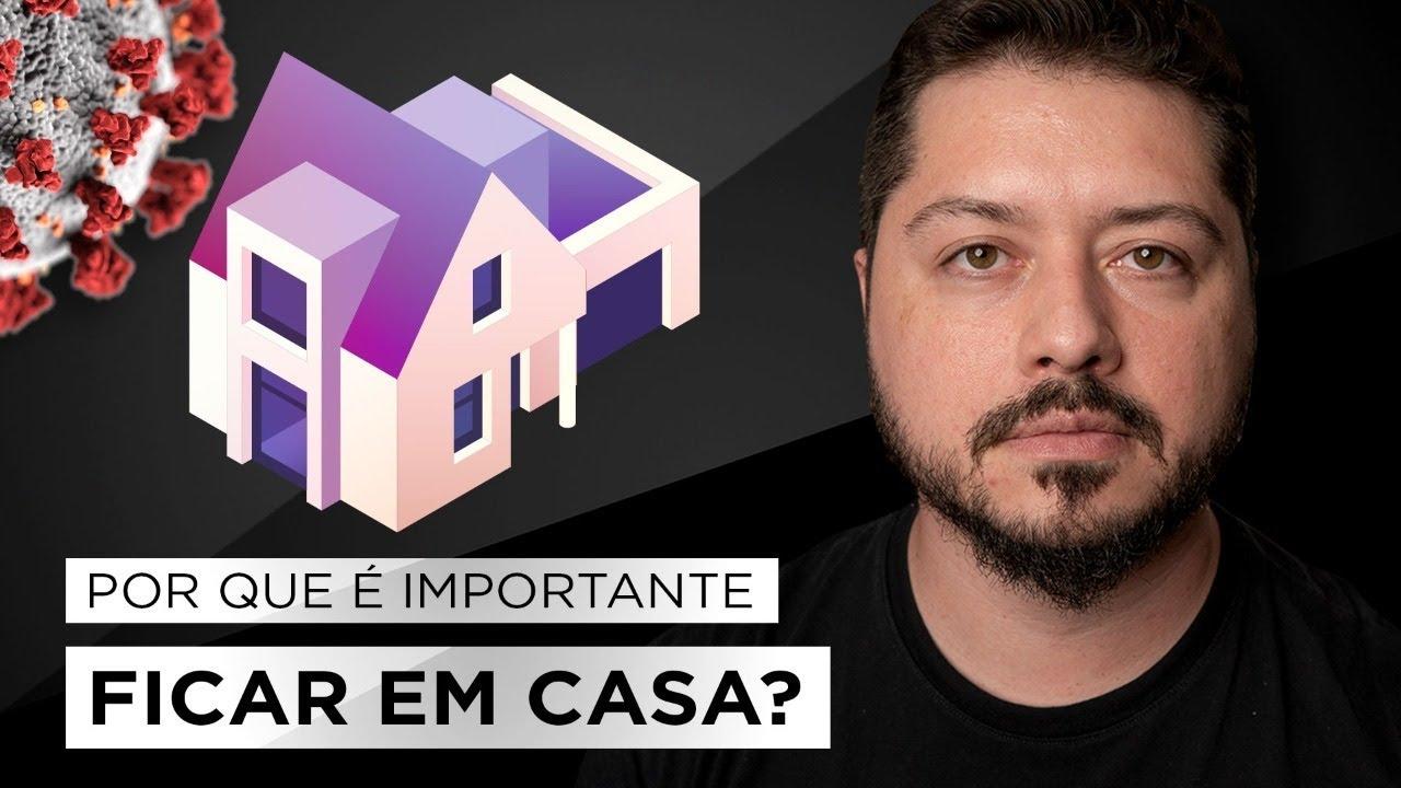 Live 22/03 – Por que é importante ficar em casa? #FiqueEmCasa