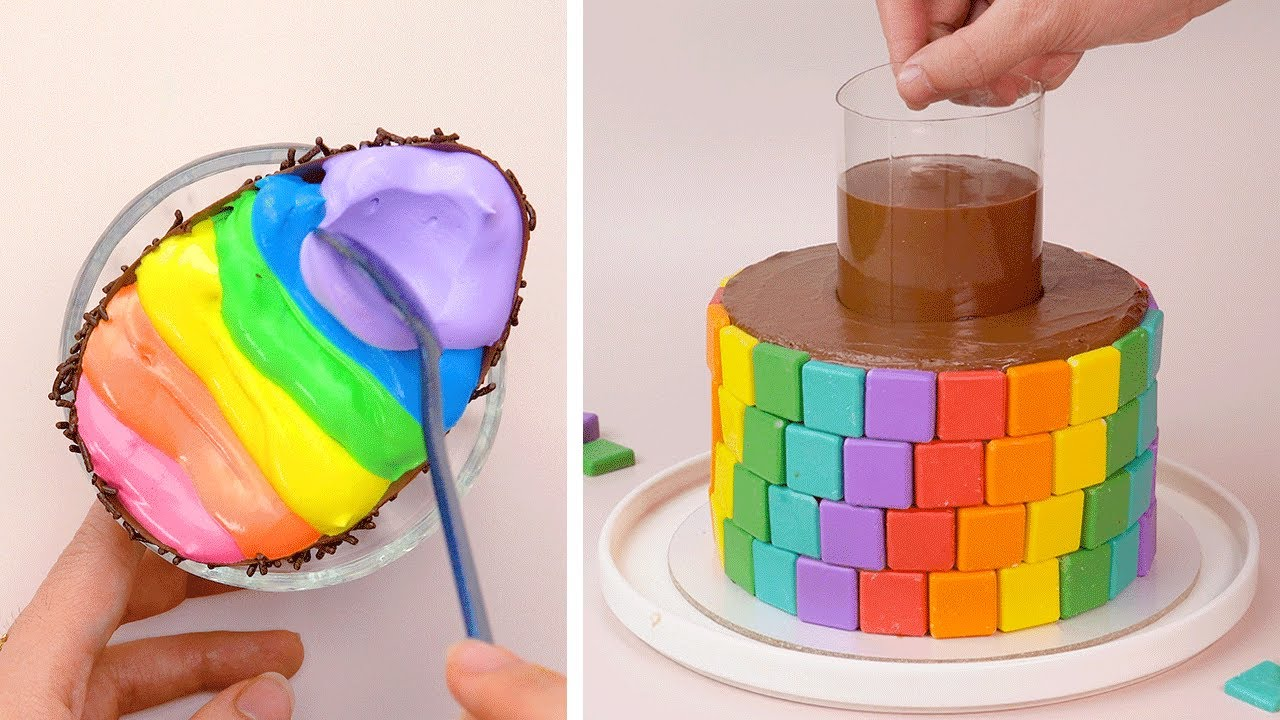 The BEST Rainbow Cake Recipes to Bake for a Birthday Party | So Yummy Cake Hacks | Tasty Plus