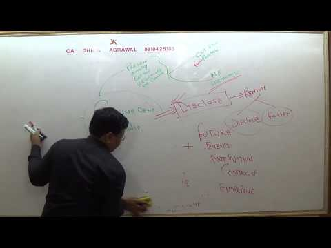 Lecture #294   AS 29  CONTINEGENT  LIABILITIES  ASSETS PART 4 SUMMARIZES NEW