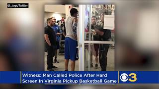 #basketball Virginia Man Called Cops After Hard Foul In Pickup Basketball Game 🤦🏾♀️